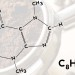 Cafeine molecule